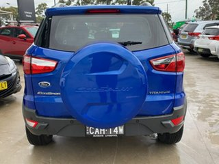 2014 Ford Ecosport BK Titanium PwrShift Blue 6 Speed Sports Automatic Dual Clutch Wagon.