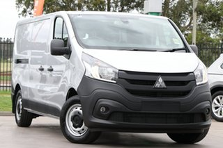 2020 Mitsubishi Express SN MY21 GLX LWB DCT Silver 6 Speed Sports Automatic Dual Clutch Van.