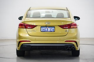 2017 Hyundai Elantra AD MY18 SR Turbo Gold 6 Speed Manual Sedan