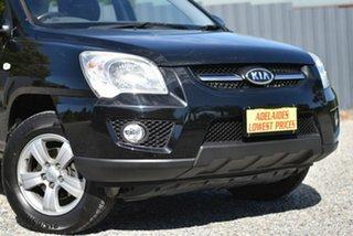 2010 Kia Sportage KM2 MY10 EX Black 4 Speed Automatic Wagon