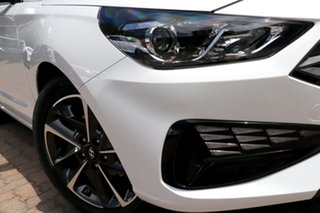 2021 Hyundai i30 PD.V4 MY21 Active Polar White 6 Speed Sports Automatic Hatchback.
