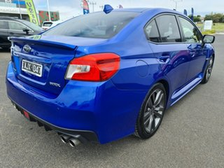 2016 Subaru WRX V1 MY17 Premium AWD WR Blue 6 Speed Manual Sedan