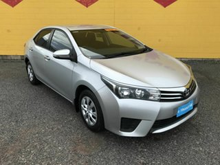 2015 Toyota Corolla ZRE172R Ascent S-CVT Silver 7 Speed Constant Variable Sedan.