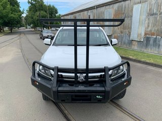 2018 Holden Colorado RG MY18 LS White 6 Speed Manual Cab Chassis.