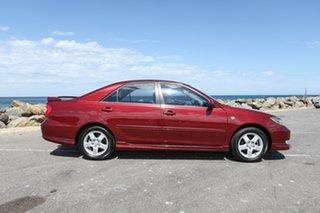 2003 Toyota Camry MCV36R Sportivo Red 5 Speed Manual Sedan.
