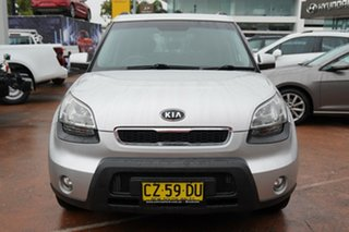 2010 Kia Soul AM MY11 + Silver 4 Speed Automatic Hatchback