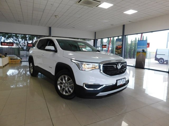 Used Holden Acadia AC MY19 LT 2WD Wonthaggi, 2019 Holden Acadia AC MY19 LT 2WD White 9 Speed Sports Automatic Wagon