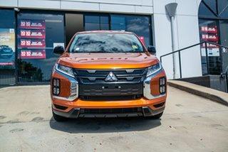 2020 Mitsubishi ASX XD MY21 MR 2WD Sunshine Orange 1 Speed Constant Variable Wagon.