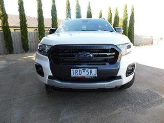 2019 Ford Ranger PX MkIII 2020.25MY Wildtrak White 6 Speed Sports Automatic Double Cab Pick Up