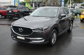 2017 Mazda CX-5 KF4WLA Touring SKYACTIV-Drive i-ACTIV AWD Grey 6 Speed Sports Automatic Wagon.