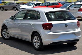2020 Volkswagen Polo AW MY21 85TSI DSG Comfortline Silver 7 Speed Sports Automatic Dual Clutch.
