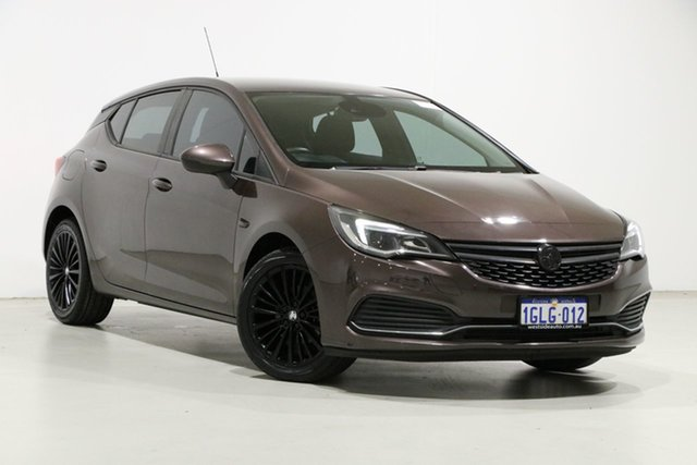 Used Holden Astra BK MY17 R Bentley, 2017 Holden Astra BK MY17 R Brown 6 Speed Automatic Hatchback