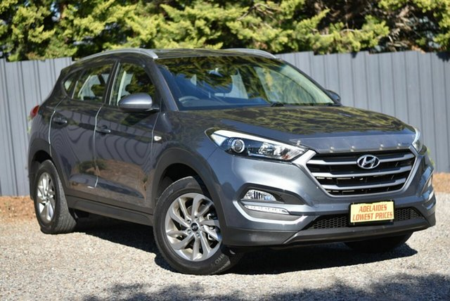 Used Hyundai Tucson TL2 MY18 Active 2WD Enfield, 2017 Hyundai Tucson TL2 MY18 Active 2WD Grey 6 Speed Sports Automatic Wagon