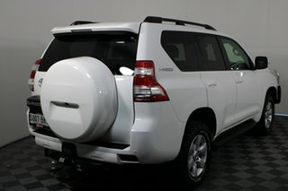 2015 Toyota Landcruiser Prado KDJ150R MY14 GXL White 6 Speed Manual Wagon