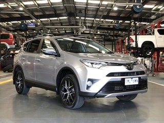 2018 Toyota RAV4 ASA44R GXL AWD Silver 6 Speed Sports Automatic Wagon.