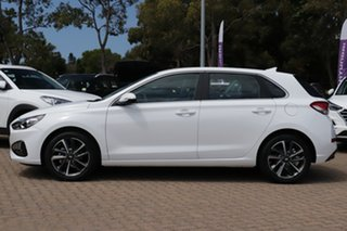 2020 Hyundai i30 PD.V4 MY21 Active White 6 Speed Sports Automatic Hatchback