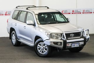 2011 Toyota Landcruiser VDJ200R MY10 GXL Silver Pearl 6 Speed Sports Automatic Wagon.