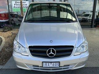 2011 Mercedes-Benz Vito MY11 122CDI LWB Silver 5 Speed Automatic Van.