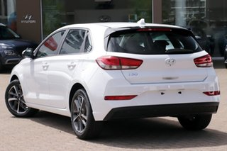 2020 Hyundai i30 PD.V4 MY21 Active White 6 Speed Sports Automatic Hatchback.