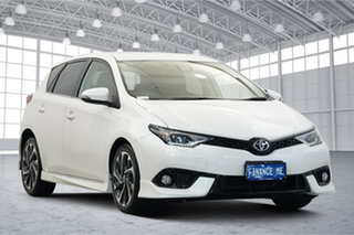 2017 Toyota Corolla ZRE182R ZR S-CVT White 7 Speed Constant Variable Hatchback.