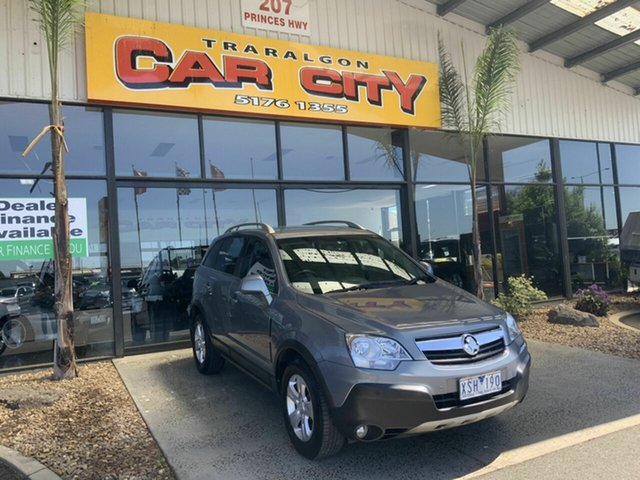 Used Holden Captiva CG MY10 5 (FWD) Traralgon, 2010 Holden Captiva CG MY10 5 (FWD) Grey 5 Speed Manual Wagon