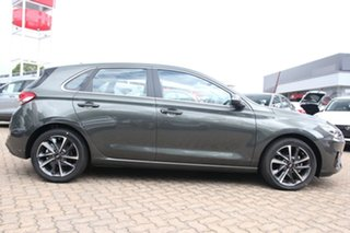 2021 Hyundai i30 PD.V4 MY21 Elite Amazon Gray 6 Speed Sports Automatic Hatchback
