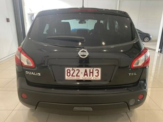 2012 Nissan Dualis J10W Series 3 MY12 Ti-L Hatch 2WD Black 6 Speed Manual Hatchback