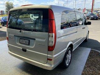 2011 Mercedes-Benz Vito MY11 122CDI LWB Silver 5 Speed Automatic Van