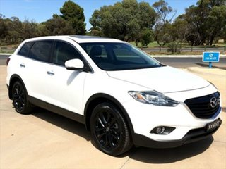 2012 Mazda CX-9 TB10A5 Luxury Activematic Crystal White Pearl 6 Speed Sports Automatic Wagon.