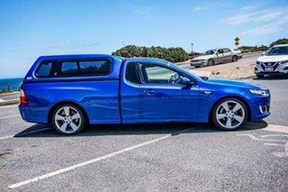 2015 Ford Falcon FG X XR6 Ute Super Cab Blue 6 Speed Manual Utility.