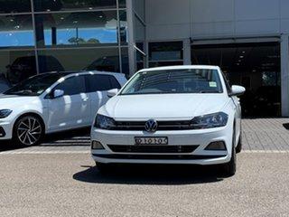 2020 Volkswagen Polo AW MY20 70TSI DSG Trendline White 7 Speed Sports Automatic Dual Clutch.