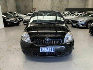 2003 Toyota Echo NCP10R MY03 Black 5 Speed Manual Hatchback.