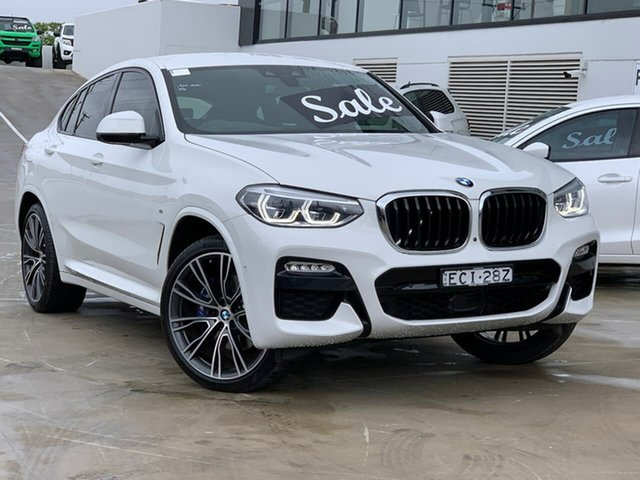 Used BMW X4 G02 xDrive30i Coupe Steptronic M Sport Liverpool, 2019 BMW X4 G02 xDrive30i Coupe Steptronic M Sport White 8 Speed Sports Automatic Wagon