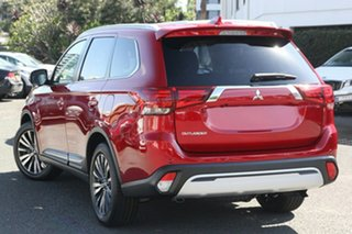 2020 Mitsubishi Outlander ZL MY21 LS 2WD Red Diamond 6 Speed Constant Variable Wagon.