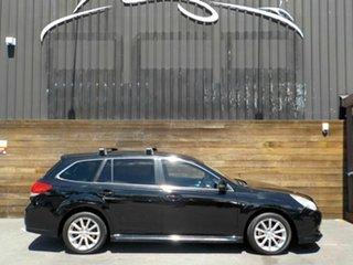 2012 Subaru Liberty B5 MY12 2.5i Lineartronic AWD Black 6 Speed Constant Variable Wagon.