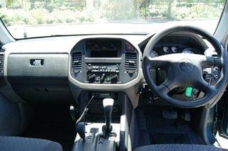 2004 Mitsubishi Pajero NP GLX LWB (4x4) Green 5 Speed Auto Sports Mode Wagon