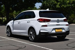 2019 Hyundai i30 PD.3 MY20 N Line D-CT White 7 Speed Sports Automatic Dual Clutch Hatchback