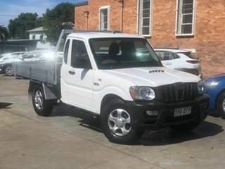 2015 Mahindra Pik-Up S5 MY11 4x2 White 5 Speed Manual Cab Chassis.