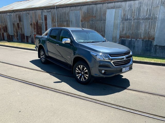 Used Holden Colorado RG MY19 LTZ Pickup Crew Cab Launceston, 2018 Holden Colorado RG MY19 LTZ Pickup Crew Cab Grey 6 Speed Sports Automatic Utility