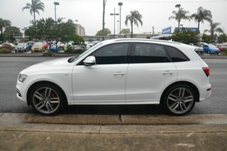 2015 Audi SQ5 8R MY16 3.0 TDI Quattro White 8 Speed Automatic Wagon