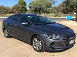 2017 Hyundai Elantra AD MY18 Elite Iron Gray 6 Speed Sports Automatic Sedan.