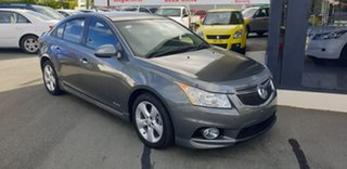2012 Holden Cruze JH Series II MY12 SRi-V Grey 6 Speed Sports Automatic Sedan.