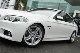2015 BMW 535i F10 MY15 Luxury Line Alpine White 8 Speed Automatic Sedan.
