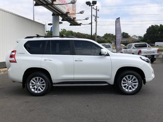 2017 Toyota Landcruiser Prado GDJ150R VX White 6 Speed Sports Automatic Wagon.
