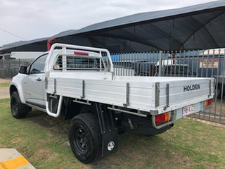 2014 Holden Colorado RG MY15 DX (4x4) Silver 6 Speed Manual Cab Chassis