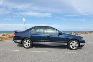 2003 Ford Falcon BA XT Blue 4 Speed Sports Automatic Sedan.