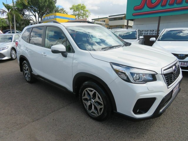 Used Subaru Forester S5 MY19 2.5i CVT AWD Mount Gravatt, 2018 Subaru Forester S5 MY19 2.5i CVT AWD White 7 Speed Constant Variable Wagon