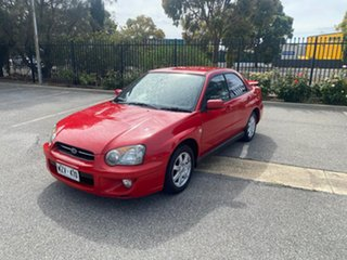 2004 Subaru Impreza S MY04 RX AWD Red 4 Speed Automatic Sedan.