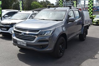2018 Holden Colorado RG MY18 LS Space Cab Grey 6 Speed Sports Automatic Cab Chassis