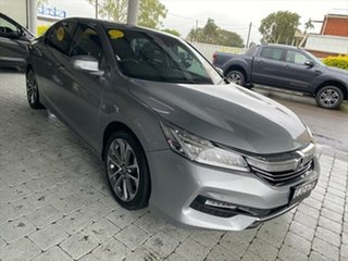 2017 Honda Accord VTi-L Silver Sports Automatic Sedan.